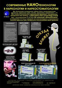НАНОматериалы и плакат нанотехнологии